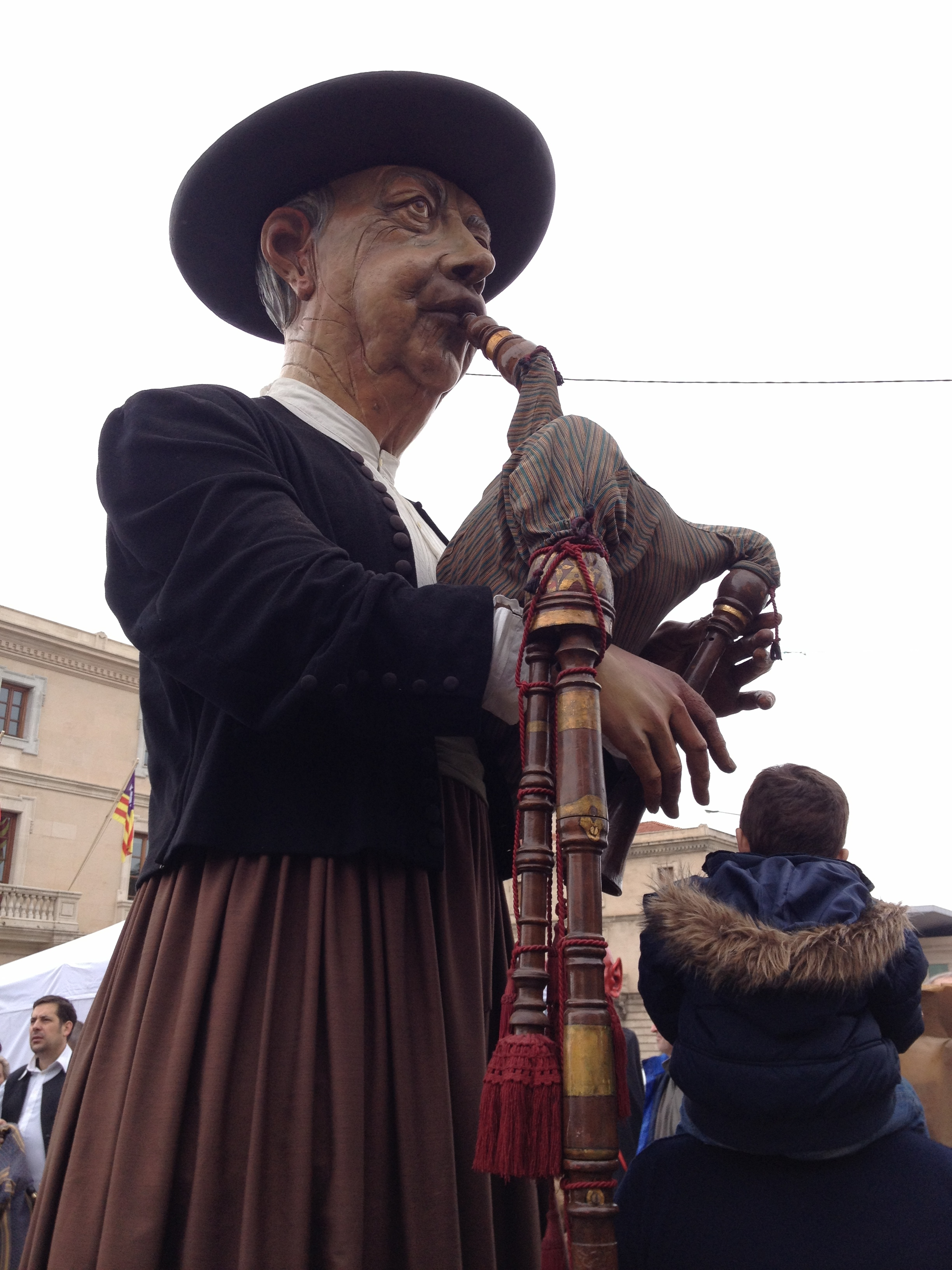 Majorcan folklore-bagpipes